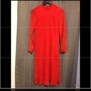 H&M Red Long dressed